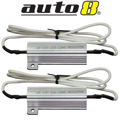 LED LOAD RESISTOR 12V TWIN PACK Bullbar lights front & rear indicators