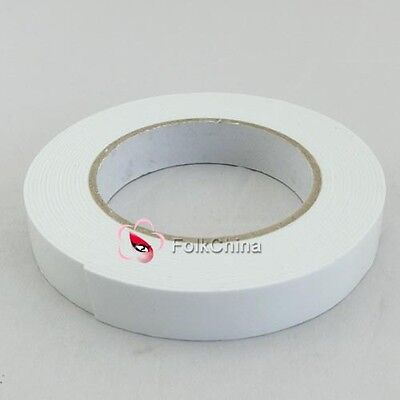 Double Sided Tape Adhesive Tape Foam Double Sided Tape 18mm X 1mm x 5M New