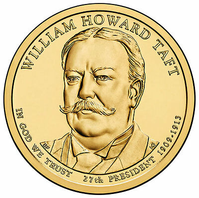 USA: 1 Dolar 2013 D - 27º. Presidente WILLIAM HOWARD TAFT  (1909-1913)  S/C
