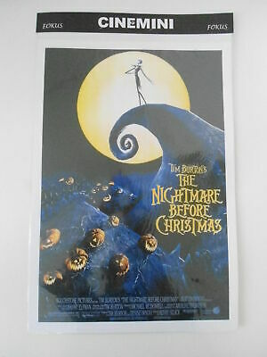 Poster Locandina Film The Nightmare Before Christmas Locandine Cinematografiche
