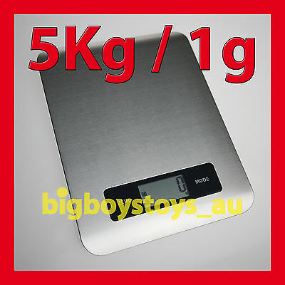 Digital Kitchen Scales Stainless Steel Electronic Cooking Commercial Master Chef