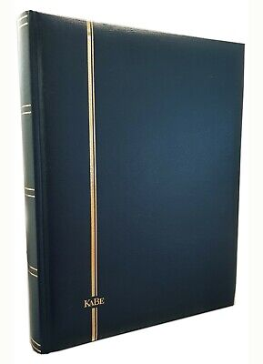 Kabe Stamp Stockbook 32 Leaves/64 Pages-Padded Hard Cover(Red Black Blue Green)