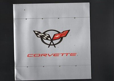 N° 2109 / CHEVROLET CORVETTE : catalogue en français salon de Geneve 1997