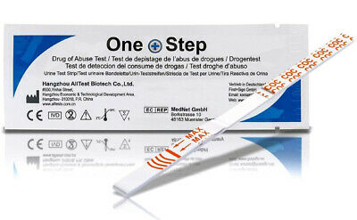One Step® DRUG TESTING KITS - Home Urine Strip Tests Cocaine/Cannabis/Heroin