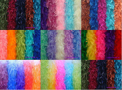65 grams Chandelle Feather Boa, 35+ Solid Colors to pick up from, Cynthia's