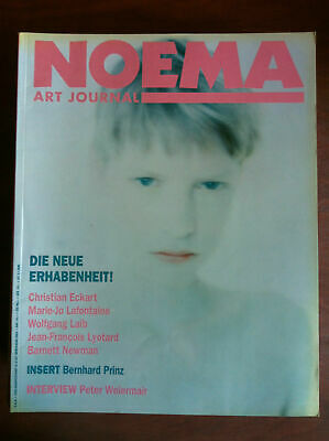 NOEMA Art Journal n° 35 April 2/1991 Cover: Marie-Jo Lafontaines