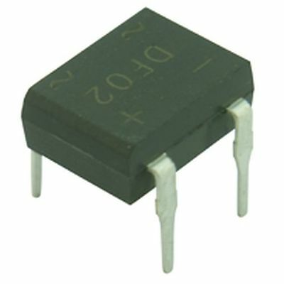 1A 1000V DIP Low Profile Bridge Rectifier DBL157G 3pk