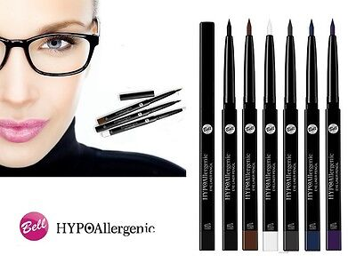 Bell Hypoallergenic Eye Liner Pencil  Black Brown White Paraben Free