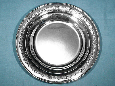 "Towle Sterling 9 5/8"" Sandwich Plate ~ French Provincial ~ No Mono"