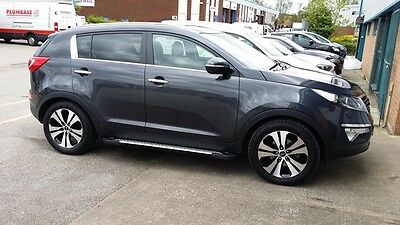 Kia Sportage Running Board Step Bar Side Steps Bar Board Accessory 2010-2015