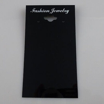 100PCS Necklace Pendant Dangle Earring Earring Stud Jewelry Display Hanging Card