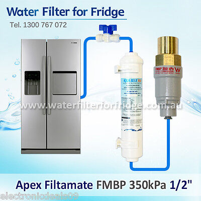 FMBP 350 Filtamate® + Water Line Hose Kit 1/4 inch + Compatible Water Filter SET