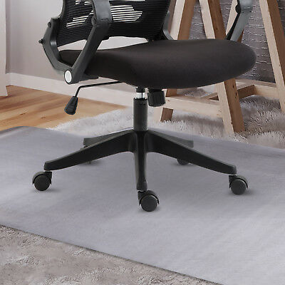 Home Office Chair Mat Floor Protector Carpet Non Slip PVC Convex Shape 900x1200m
