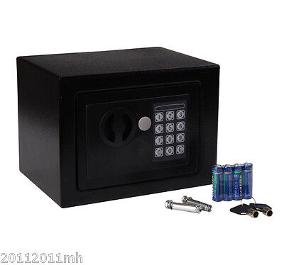 Steel Digital Electronic Safe Box Wall Mount Security Case Cabinet Keypad Lock