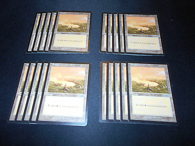 MP-NM Onslaught SAME ART Magic MTG FTG Plains 20 Basic Land #332
