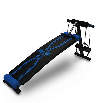 Wave Shape Sit Up Bench - Adjustable Abdominal Crunch Bench