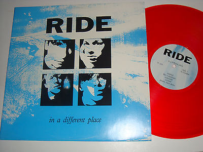 RIDE in a different place LP colored vinyl