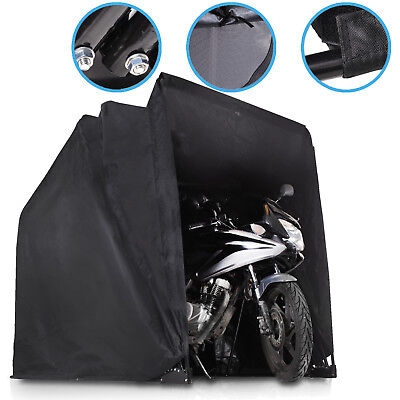 Large Folding Motor Cycle Bike Scooter Atv Garage Shelter Shed Canopy Tent Cover