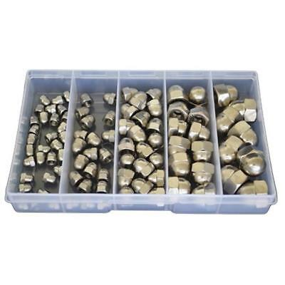 Kit Size 90 Dome Nut M5 M6 M8 M10 M12 Stainless Steel G304 Grade Acorn SS #177