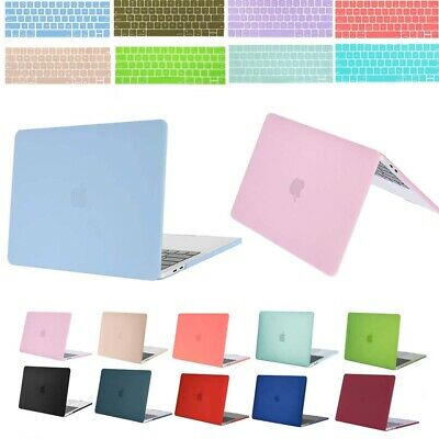 Mosiso Rubberized Cover Shell Hard Case for MacBook Pro 13 15 Retina 12