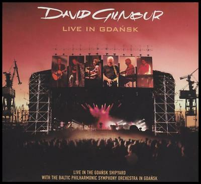 David Gilmour (2 Cd) Live In Gdansk ( Pink Floyd ) Wish You Were Here +++ *new*