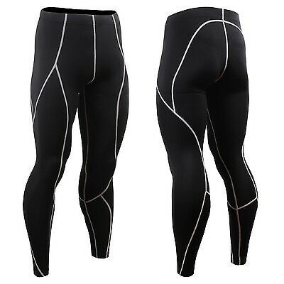 FIXGEAR P2L-BS Compression Base Layer Skin-tight Pants Gym MMA Jujitsu Boxing