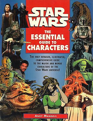 STAR WARS Book - The Essential Guide to Characters - Fair