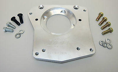 Transmission adapter plate, Ford Narrow pattern to 83-93 Ford T-5 transmission