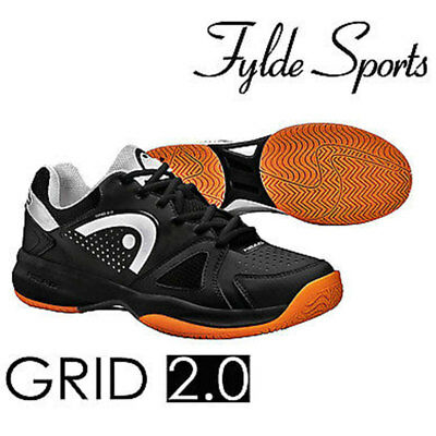 Head Grid 2 Men Court Shoes Sports Badminton Shoe Squash Trainers - CLEARANCE