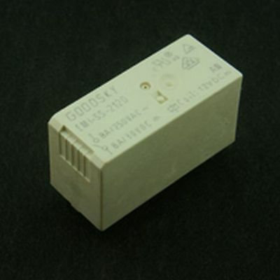 Miniature Low Profile 8A DPDT Relay 12V Coil