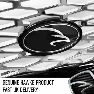 HAWKE TailoRed Surround & Badge For HST Grille For Range Rover Sport Black