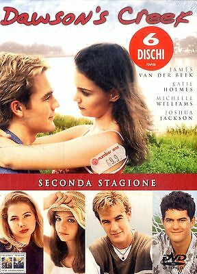 DAWSON'S CREEK Seconda Stagione BOX 6 DVD NEW Sigillato