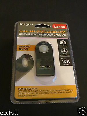 Targus Wireless Shutter Release for Canon - Black (TG-CA250)