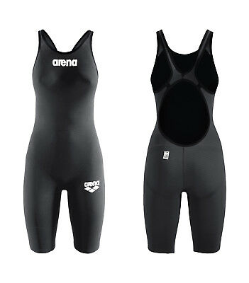 Competition Arena Woman Pws Carbon Pro Open Back Fbslo 86178 Mark2 Fina Approved