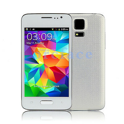 "Unlocked HD 3G Mini S5 4.0"" Inch Mobile Smart Phone Android 4.3.3 Duad Core 5MP"