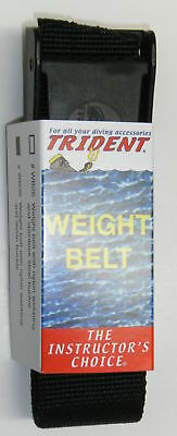 Scuba Diving Dive Weight Belt 58in Equipment Black New WB36 BLK
