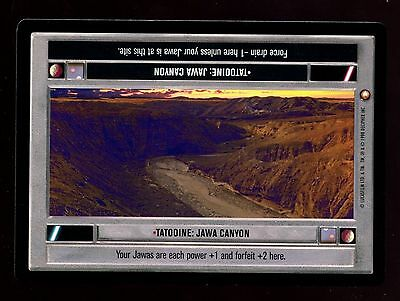 Star Wars Special Edition: Tatooine: Jawa Canyon LS CCG Card
