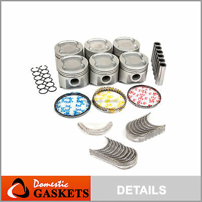 Piston Ring Set Fits 86-92 Toyota Cressida Supra 3.0L L6 DOHC 24v