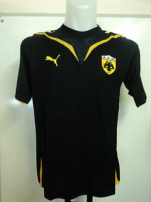 Aek Athens 2009/10 S/s Home Shirt By Puma Adults Size Large Brand New With Tags