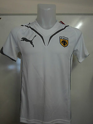 Aek Athens White Performance Tee By Puma Adults Size Xxl Brand New With Tags