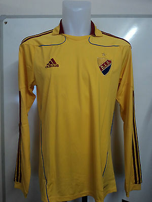 Djurgardens I.f Stockholm 2010/11 L/s Away Shirt By Adidas Size Large Brand Bnwt