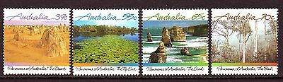Australia Sc 1098-01 Views VF MNH Set