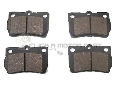 For Lexus IS220D IS250 2005-2010 2 Rear Solid Brake Disc /& Brake Pads New