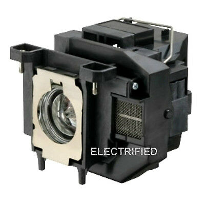 OEM COMPATIBLE ELPLP67 LAMP IN HOUSING FOR EPSON PROJECTOR MODEL EB-S12