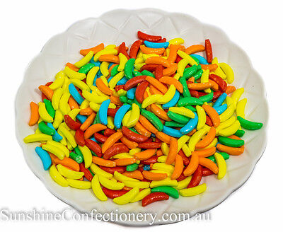 Candy Electric Banana Lollies - 370 grams