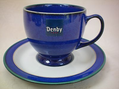 Denby Metz Tea Cup & Saucer Several Available Excellent Condition