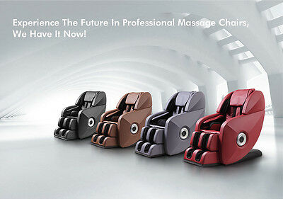Ultimate L Massage Chair, Rollers Head-Thigh, 1 Hr. Massage, 64 Airbags -$2799
