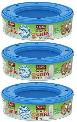 Playtex Diaper Genie Ii Advanced Disposal System Refill 3 Pack