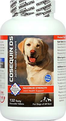 Cosequin DS 132ct Joint health for Dogs Double strength chewable tablet Plus MSM
