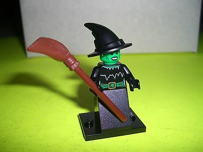 LEGO MINIFIGURE SERIES 2 WITCH HALLOWEEN MONSTER LIMITED RARE MOVIE TOWN NEW